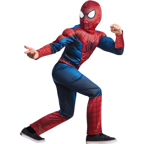 Deluxe Amazing Spider-man 2 Child's Costume