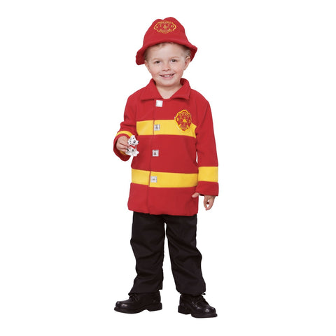 Brave Firefighter Toddler Costume