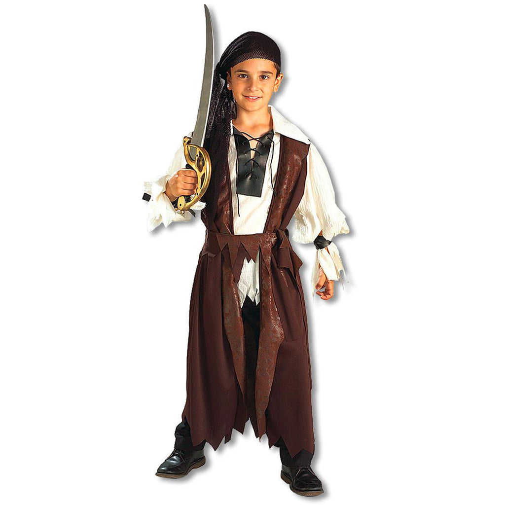 Caribbean Pirate Child's Costume