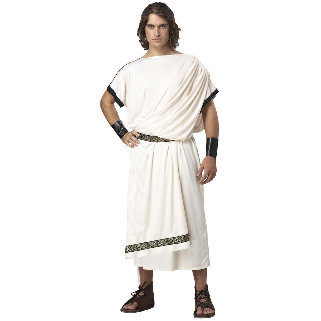 Deluxe Classic Toga Adult Costume