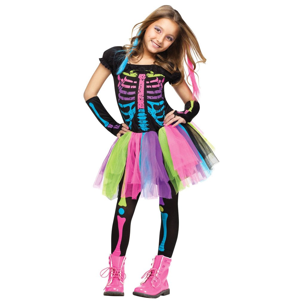 Funky Punk Bones Child's Costume