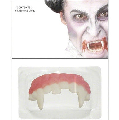 Vampire Teeth Soft Vinyl