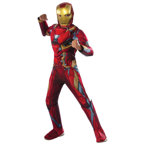 Deluxe Iron Man Child's Costume