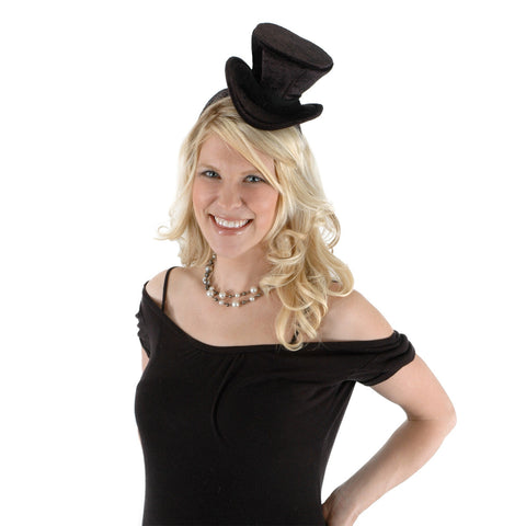 Cocktail Top Hat Headband Adult