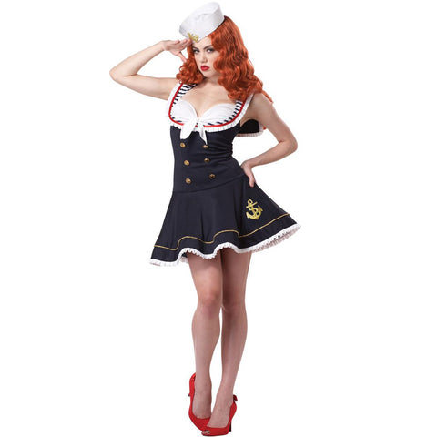 Nautical Doll Women's Costume