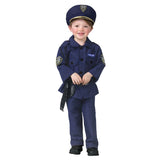 Policeman Toddler Costume