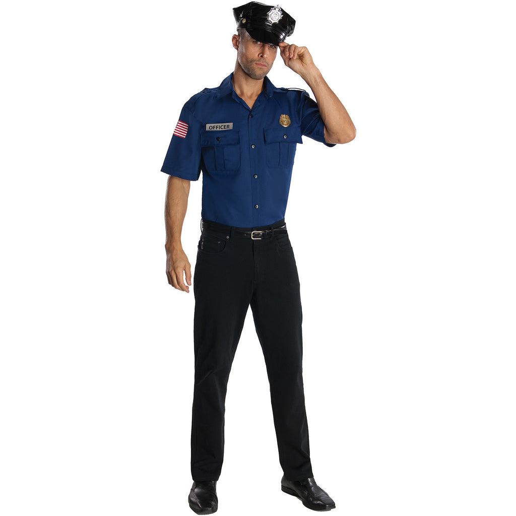 Police Uniform Men's Costume