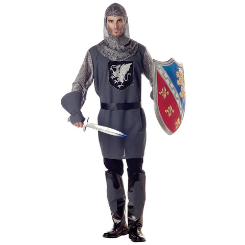Valiant Knight Men's Costume