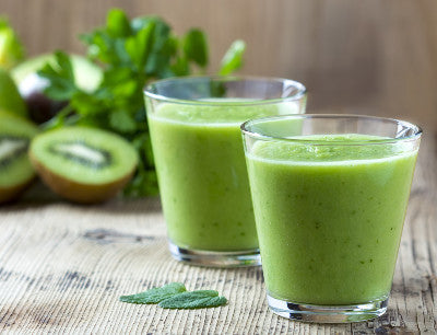 Green smoothies are healthy and so good for you