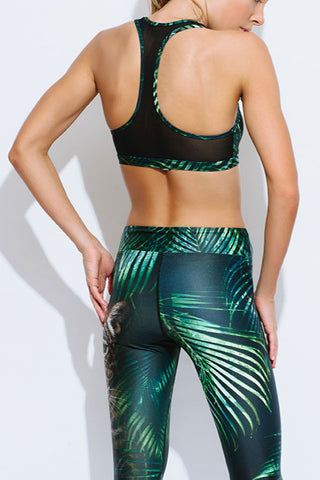 The Kinabalu Active T-Back Crop Top