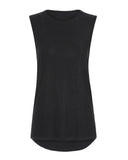 Vie Active  - black Sasha Muscle Tank Tee