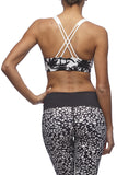 L'urv - Paradise Crop in white and black print