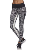L'urv - black and white Running Wild Legging