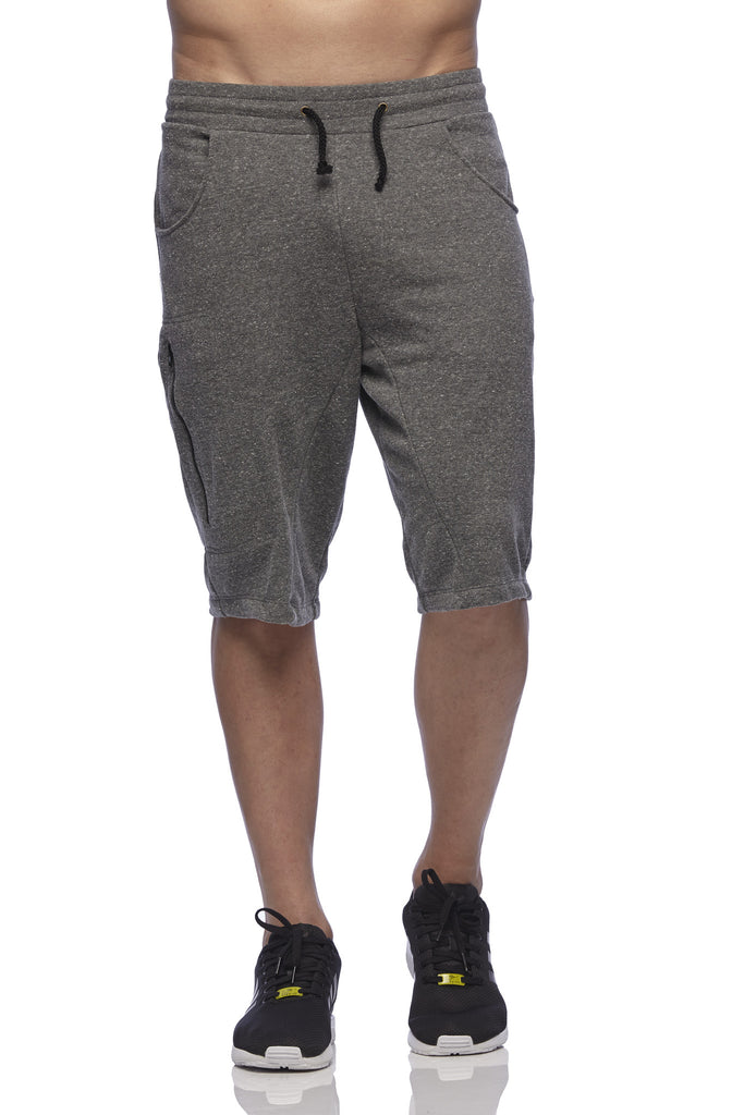 Once Upon a Run - grey Left Side Shorts