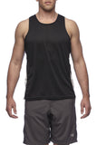 Six30 - black Running Singlet