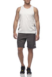 Six30 - white Running Singlet