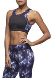 Vie Active - Holly Crop Sports Bra in Satellite Orchid blue