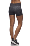 Vie Active - Tanya Dance Shorts in Black Leopard print