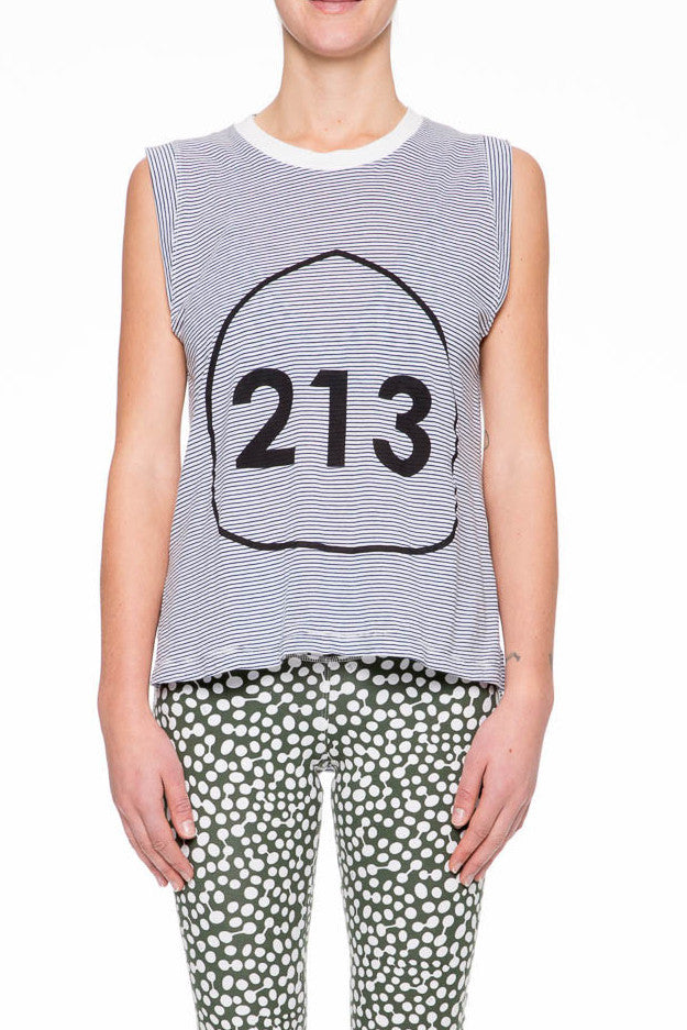 Yoga 213 - Canyon Stripe Tank