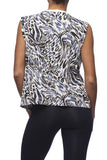 Yoga 213 - Downtown Tee in Animal print