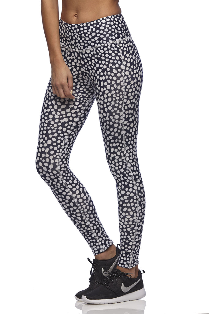 Yoga 213 - Long Beach Legging in Ocean print