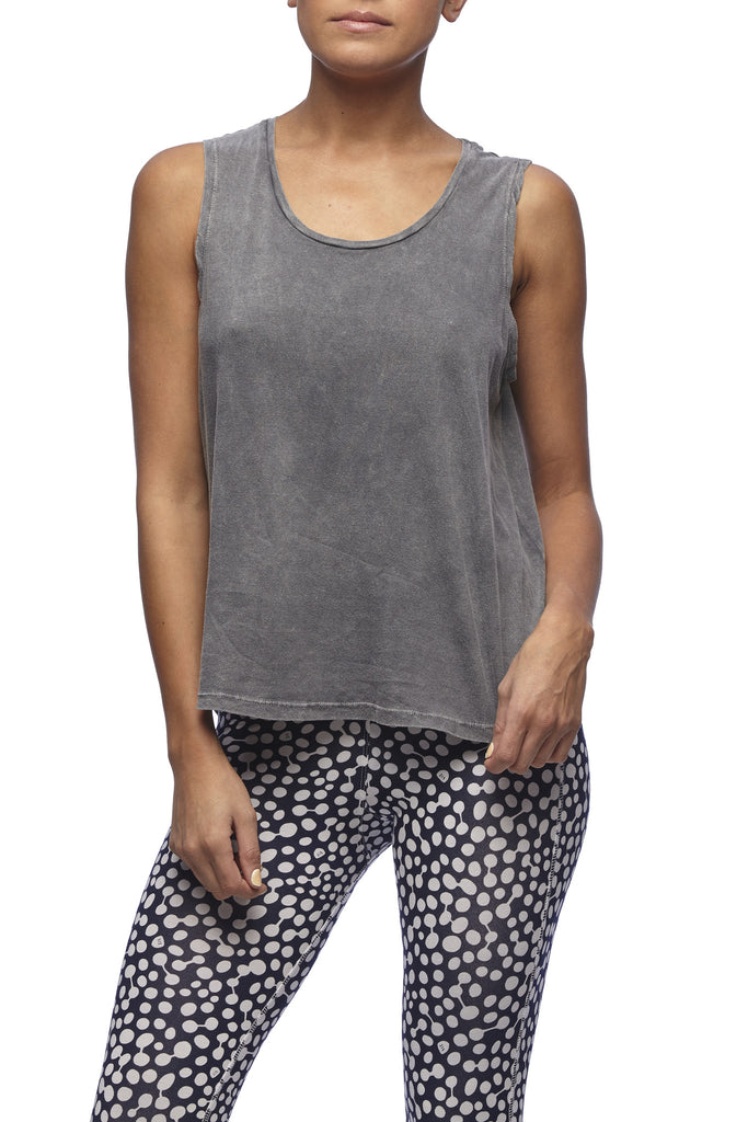Yoga 213 - Stone Wash No Shoes Tank