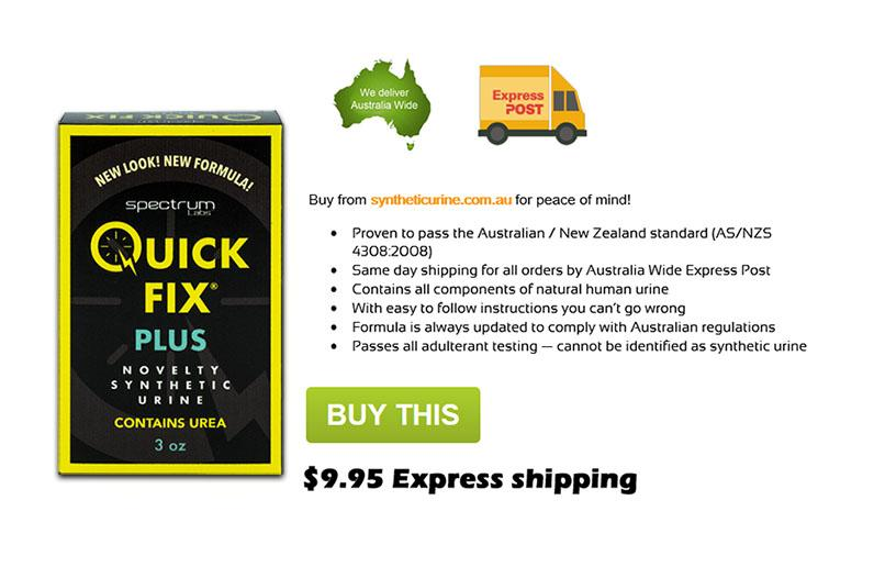 Buy Quick Fix Synthetic Urine Sydney New South Wales Australia