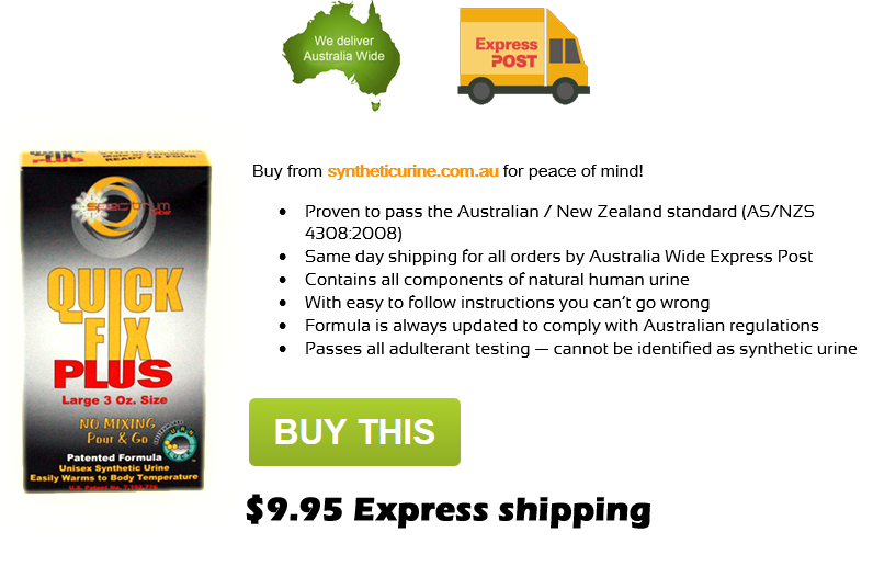 Where to Buy QUick FIx Synthetic Urine in Monbulk Victoria