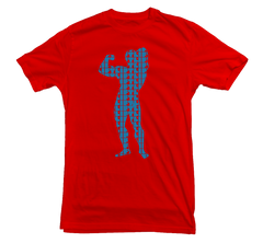 Arnie T-shirt Weightlifting - Dicky Ticker  - 2