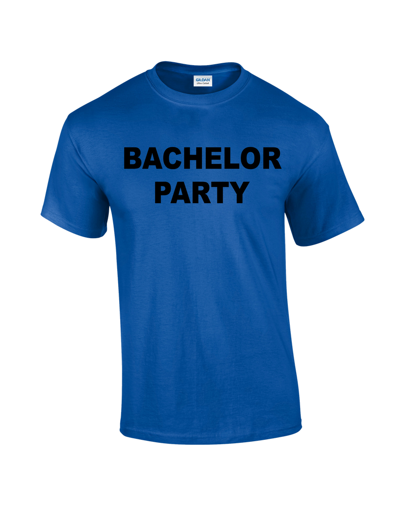 Bachelor Party T-shirt - Dicky Ticker