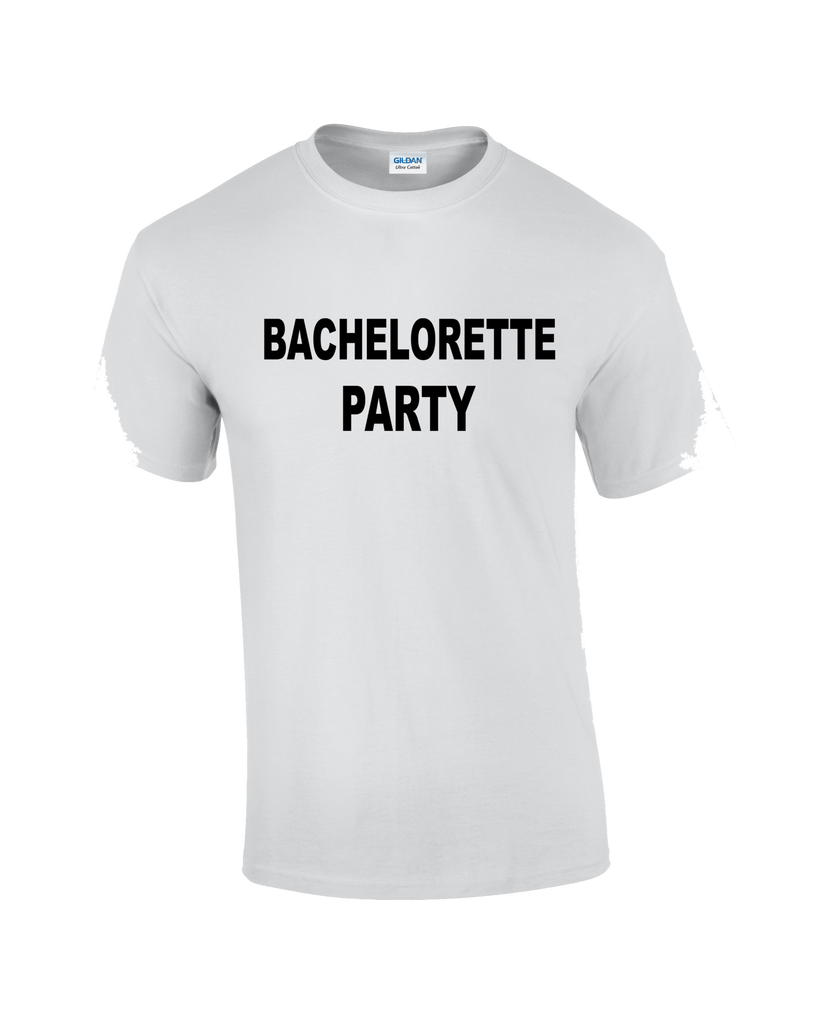 Bachelorette Party T-shirt - Dicky Ticker