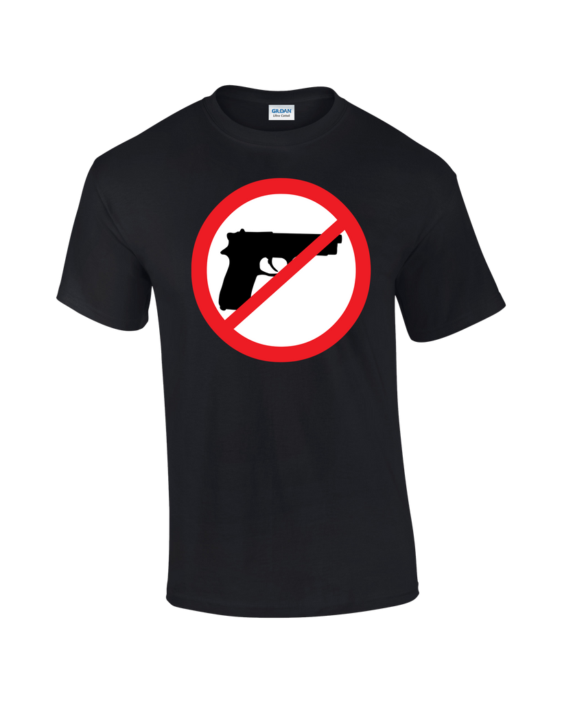 Ban Guns T-shirt - Dicky Ticker  - 1