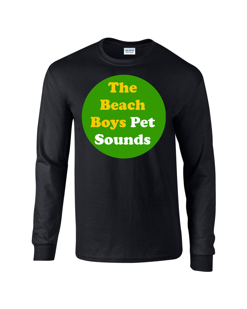Pet Sounds Beach Boys Long Sleeve T-shirt - Dicky Ticker  - 1