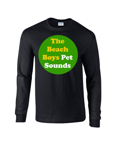 Pet Sounds Beach Boys Long Sleeve T-shirt