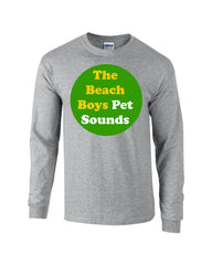Pet Sounds Beach Boys Long Sleeve T-shirt - Dicky Ticker  - 3