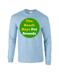 Pet Sounds Beach Boys Long Sleeve T-shirt - Dicky Ticker  - 4