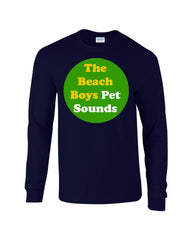 Pet Sounds Beach Boys Long Sleeve T-shirt - Dicky Ticker  - 5