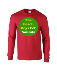 Pet Sounds Beach Boys Long Sleeve T-shirt - Dicky Ticker  - 6
