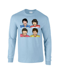 Pepper Beatles Long Sleeve T-shirt - Dicky Ticker  - 2