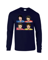Pepper Beatles Long Sleeve T-shirt - Dicky Ticker  - 4