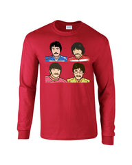 Pepper Beatles Long Sleeve T-shirt - Dicky Ticker  - 5