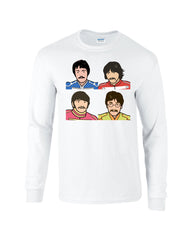 Pepper Beatles Long Sleeve T-shirt - Dicky Ticker  - 6