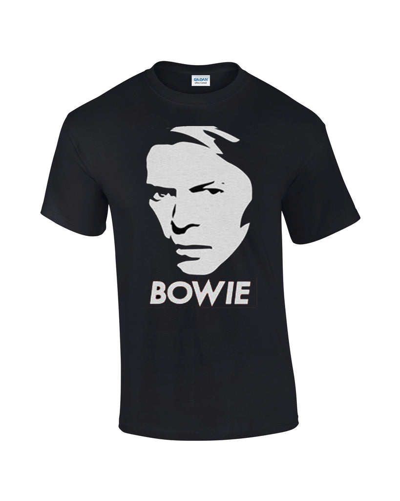 David Bowie T-shirt Bowie Face - Dicky Ticker