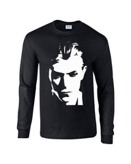 Duke Bowie Long Sleeve T-shirt - Dicky Ticker  - 1