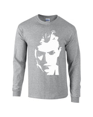Duke Bowie Long Sleeve T-shirt - Dicky Ticker  - 2
