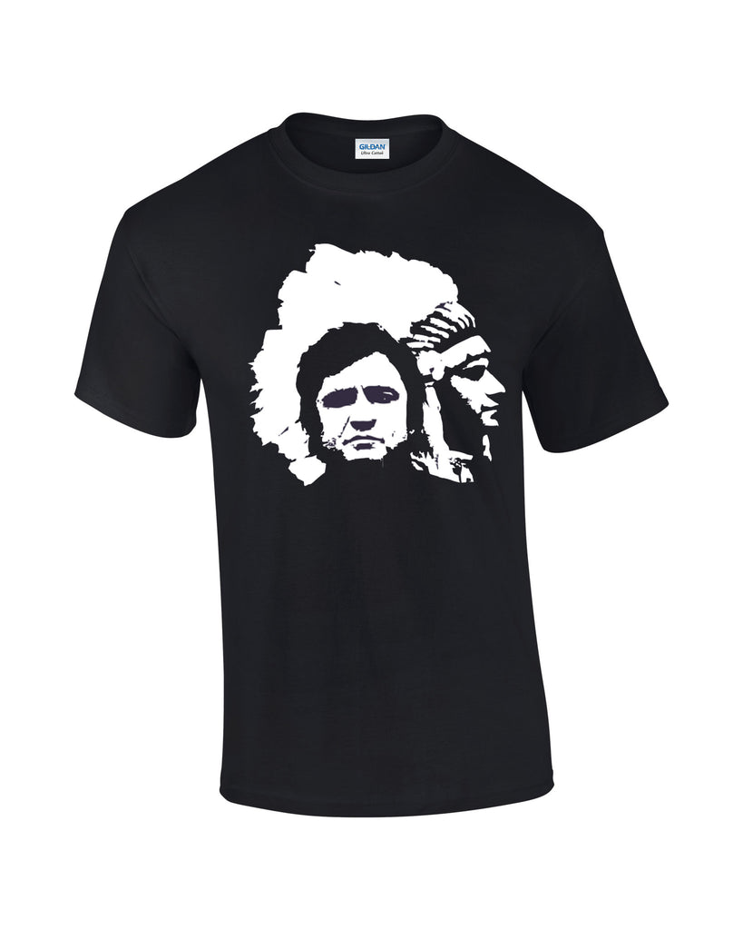 Johnny Cash T-shirt Indian - Dicky Ticker