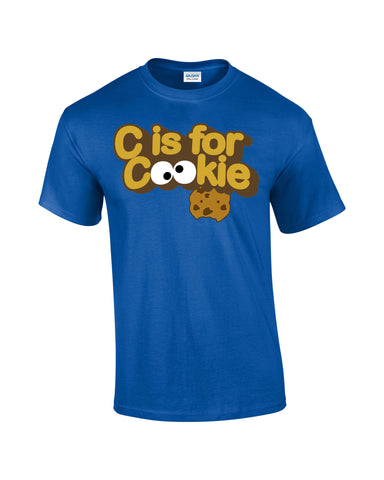 Cookie Monster T-shirt C Is for Cookie