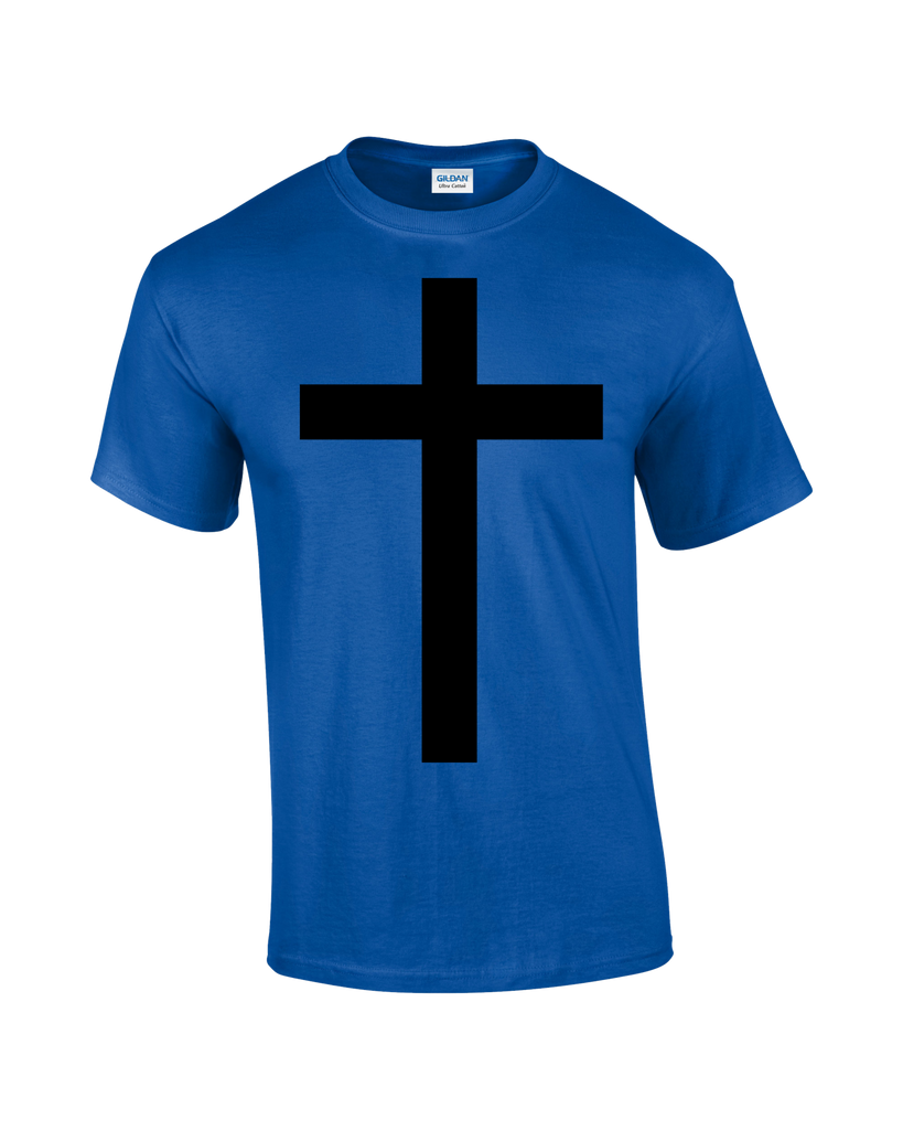Cross T-shirt - Dicky Ticker  - 1