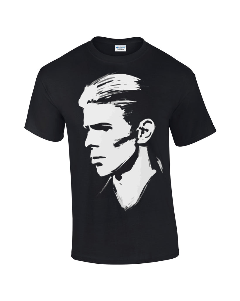 David Bowie T-shirt Profile - Dicky Ticker