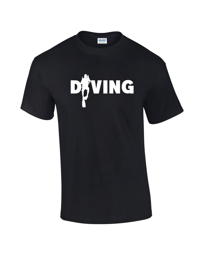 Diving T-shirt - Dicky Ticker